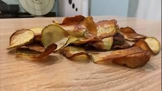 Как сделать чипсы в домашних условиях / Чипсы в духовке / Чипсы дома
