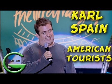 Karl Spain on American Tourists | Grintage Ireland