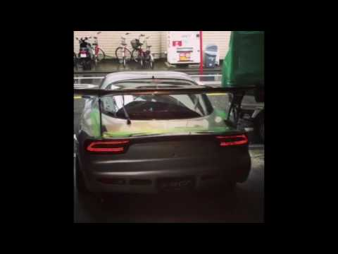 Carshop Glow Mazda Rx7 Fd3s Led Rear Tail Lights Youtube