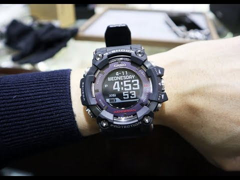 G-SHOCK RANGEMAN Solar-Assisted GPS Navigation GPR-B1000-1