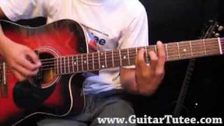 Travie McCoy Feat. Bruno Mars - Billionaire, by www.GuitarTutee.com