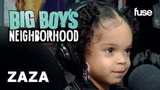 """ZaZa Performs Her Song """"What I Do"""" & Shares Her Love For Cardi B   Big Boy x Fuse"""