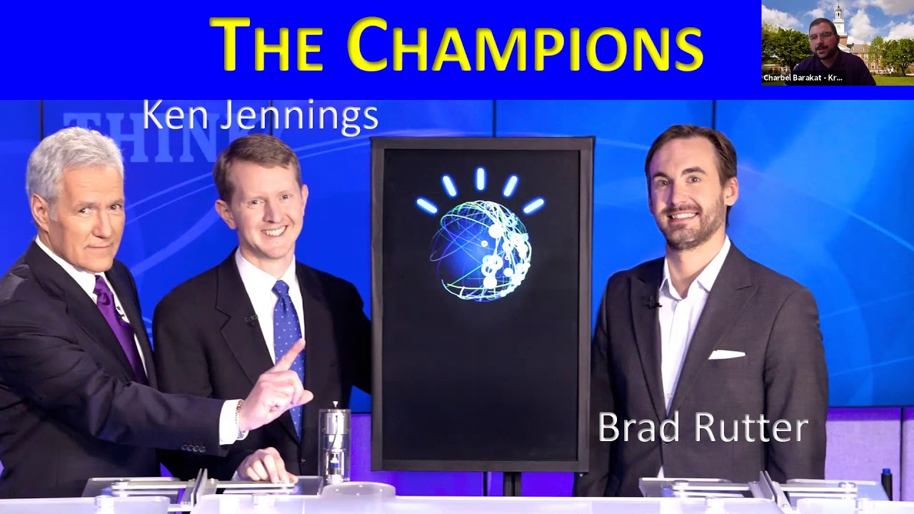 Image for What is…A Conversation with former Jeopardy Champion Charbel Barakat (A&S '02) webinar