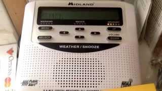 Weatheradio Canada - Rainfall Warning (EAS #111) 14/05/2014