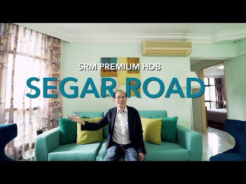 Singapore HDB Property Listing Video - Segar Road 5RM HDB