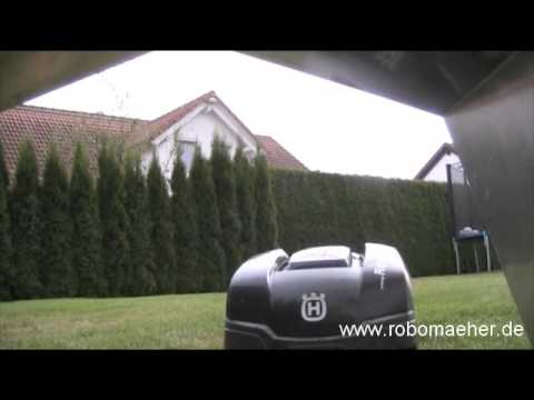 alu garage fuer rasenroboter automower 305 youtube. Black Bedroom Furniture Sets. Home Design Ideas