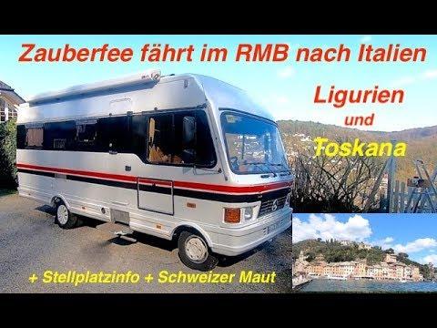 RMB Wohnmobil Reisebericht durch Italien Ligurien Toskana