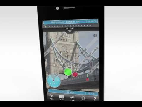 Travel Guide with Augmented Reality: Augmented GeoTravel (iPhone)