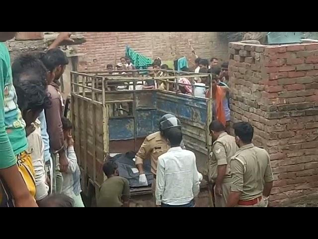 यूपी उन्नाव के सफीपुर कस्बा में एक युवक ने अपनी पत्नी को उतारा मौत के घाट और अपने ही मासूम बच्चे को