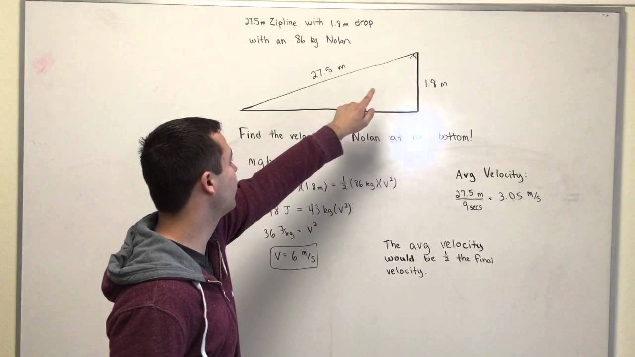 Zipline Physics Youtube