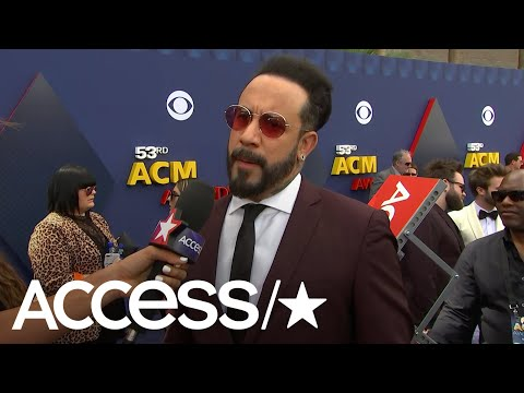 ACM Awards 2018: AJ McLean On How Florida Georgia Line Is An Inspiration For His CountryPop  Acces