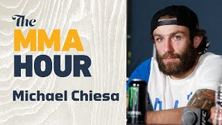 Michael Chiesa Challenges Referee Mario Yamasaki to a Grappling Match