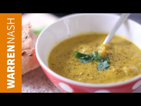 Carrot And Coriander Soup Recipe - Quick & Easy - Recipes By Warren Nash