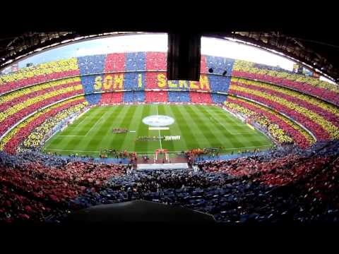 Mosaico No Camp Nou Som i serem Travel Video