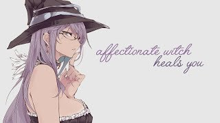 Overly Affectionate Witch Heals You~ [ASMR] [Personal Attention] [Roleplay]