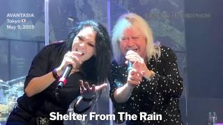 AVANTASIA - Shelter From The Rain @Akasaka Blitz, Tokyo - May 9, 2019 LIVE 4K
