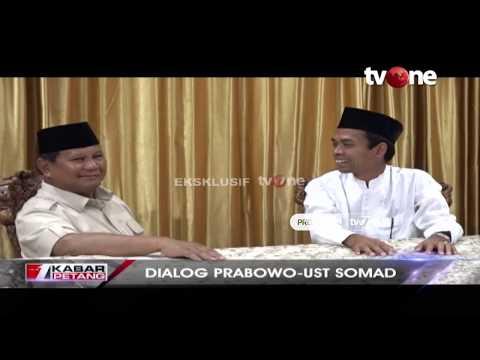 [EKSKLUSIF TvOne] Dialog Prabowo Subianto - Ustadz Abdul Somad