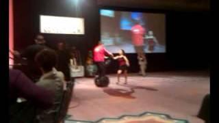 Elliott Masie Segway dance at Learning 2009