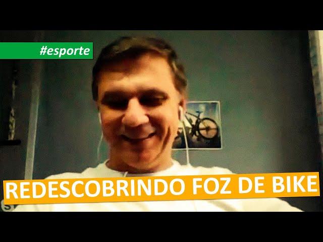 #esporte   REDESCOBRINDO FOZ DE BIKE