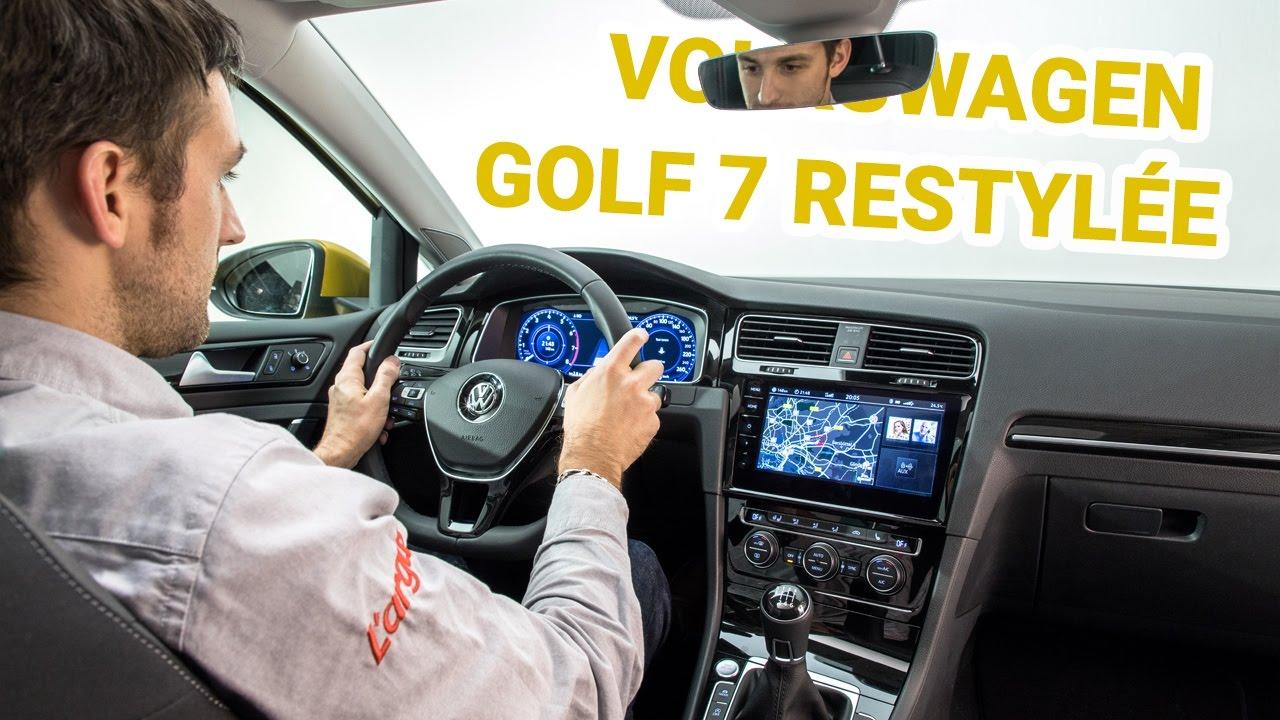 volkswagen golf 7 2017 sage restylage et plein de nouveaut s pr sentation vid o youtube. Black Bedroom Furniture Sets. Home Design Ideas
