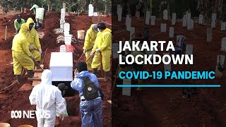 Indonesian Capital Heads Into Second Lockdown As Covid 19 Cases Surge Abc News