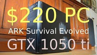 Ark survival evolved fps test 3840x2160 gtx 1050 ti 4gb