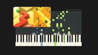 Dancing Line - The Autumn // Custom Arrangement (Synthesia Tutorial + MIDI + PDF)