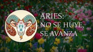 ARIES -NO SE HUYE, SE AVANZA- Taróscopo semanal, 2da semana de Junio.