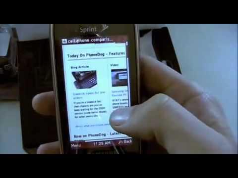 Samsung Instinct s30 Sprint Unboxing