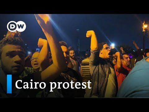Dozens Arrested In Rare Protest Against Egypt's El-Sissi | DW News