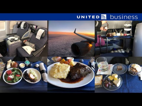 United Airlines Transcontinental Business Class: San Francisco to Boston