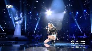 Larisa Mihaes - Somebody to love (Queen) - Vocea Romaniei 2014 - LIVE 2 - Editia 12