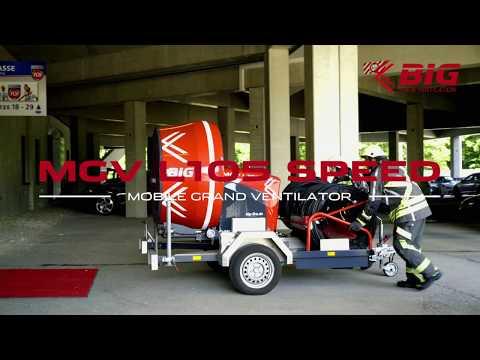 BIG Mobiler Großventilator MGV L105 Speed