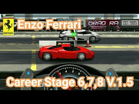 drag racing tune car enzo ferrari for 3 career stage level. Black Bedroom Furniture Sets. Home Design Ideas