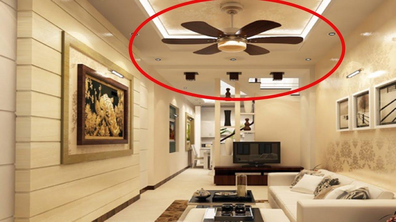 Đừng bao giờ lắp quạt trần trong nhà như thế này kẻo tài lộc tiêu tan hết mà không hiểu vì sao