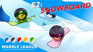 MARBLE LEAGUE Winter Special ❄️ E2 Snowboard Cross 2021