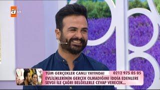 Mehmet talibinin elini tutmayınca - Esra Erol'da 220. Bölüm - atv