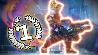 This Is What The Rank 1 Zarya Player Looks Like - Overwatch Montage