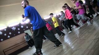 Allyans dance school масте - класс по хип-хопу VOBR