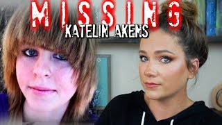 Where is Katelin Akens?  Missed flight, dumped luggage and strange texts?!