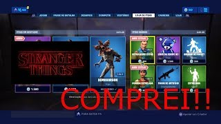 fortnite peau Demogorgon