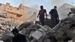 أخبار الآن - معارك عنيفة في حلب وقصف بالبراميل يتجدد على قرية الشيخ نجار.