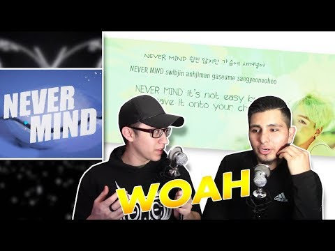 GUYS REACT TO BTS 'Intro: NEVER MIND'