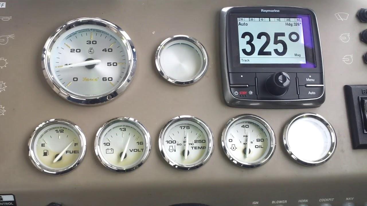 Raymarine Autopilot 2 , Sportpilot Ev200  75echo 01:07 HD