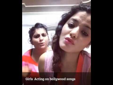 Girls Acting on Bollywood songs