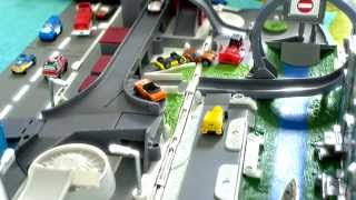 Micro Machines - Slow motion toy car crashes