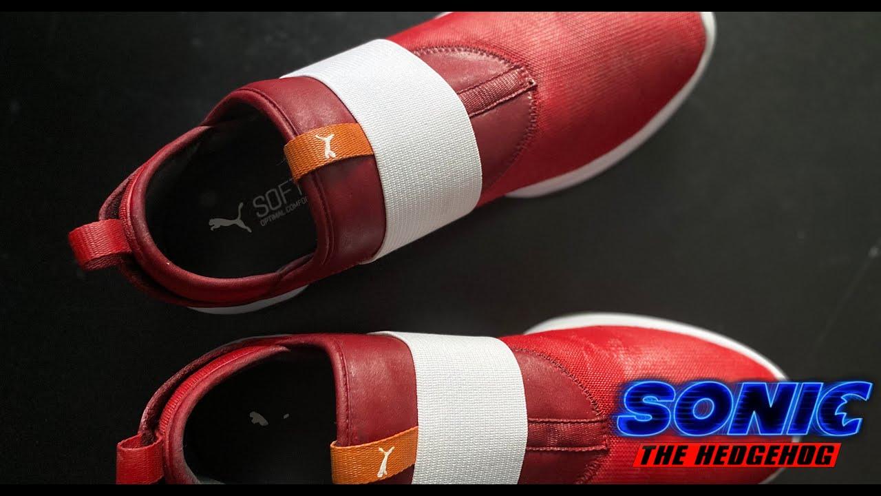 Sonic The Hedgehog Movie Pumas Custom Made Youtube
