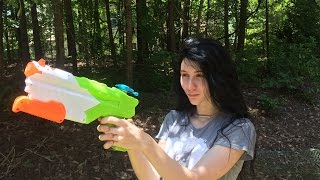 Honest Review: The Washout Super Soaker by Nerf (Full unboxing and demo)