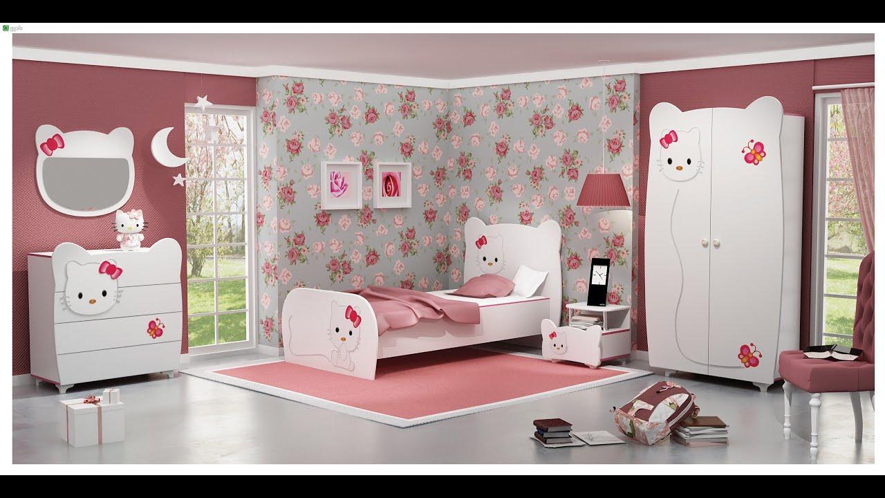 كتالوج صور غرف نوم اطفال 2020 بألوان مبهجة رائعة الجمال Youtube