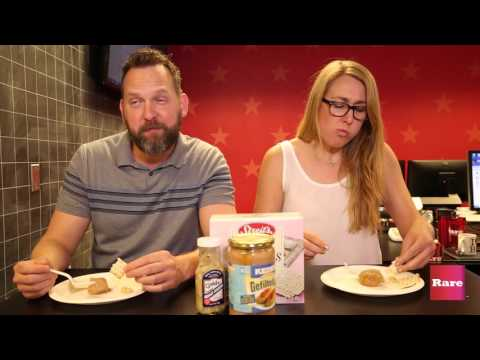 Watch People Try Gefilte Fish For The First Time | Rare Humor